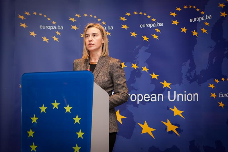 HRVP-Federica-Mogherini-speaking-at-the-Press-conference-in-the-EU-House-in-Sarajevo