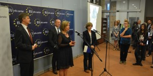 EU Info Centre marked European Climate Diplomacy Day with exhibition of children's artworks