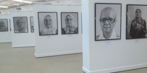 "The photo exhibition ""Women of Srebrenica"""