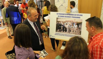 EU Floods Recovery photo exhibition