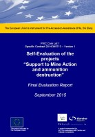 Final Report Support to mine action and ammunition destruction