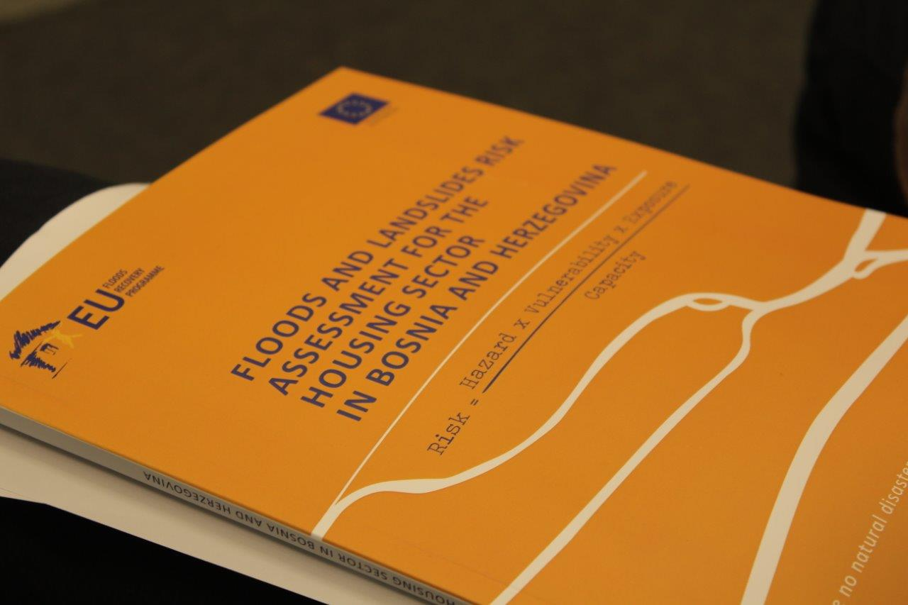 The first study on Floods and Landslides Risk for the Housing Sector in BiH produced by the EU Floods Recovery Programme