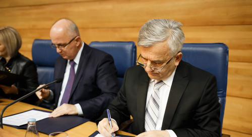 Parliaments in BiH sign cooperation framework in the EU integration process