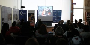 700th anniversary of the birth of King Charles IV: EU Info Centre hosted a film screening and panel exhibition