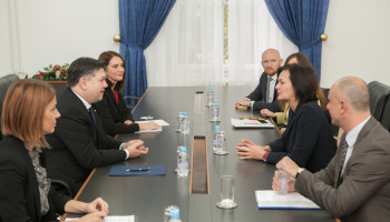 Director Eichhorst at BiH Ministry of Foreign Affairs