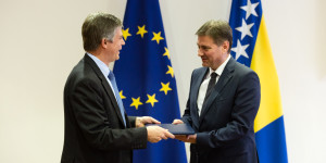 Handover of 2016 Report on BiH