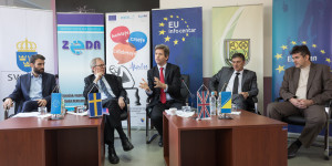Tackling gender-based violence a top priority, panel discussion in Zenica concluded