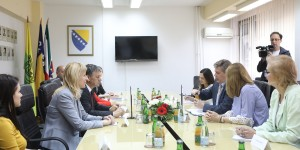 Socio-economic development at local level in focus of Ambassador Wigemark's  visit to Zenica