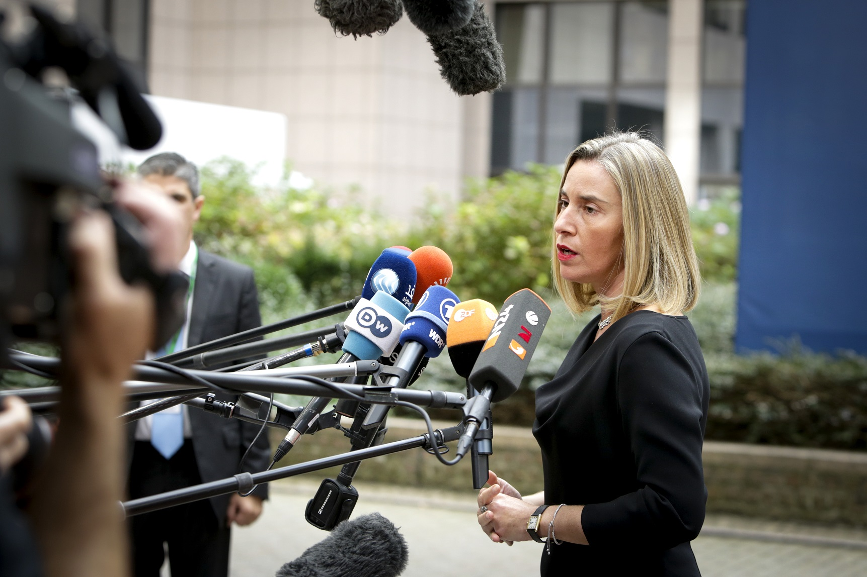 Mogherini-press