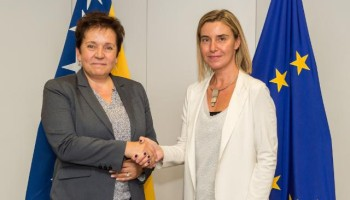 EU - Bosnia-Herzegovina sign agreement on participation in crisis management operations